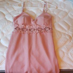 Iris brand pink dress